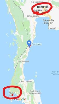 バンクルットの地図