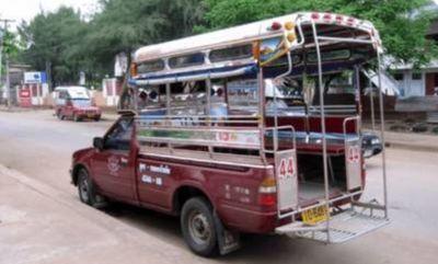 タイの移動手段ソンテウ