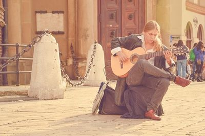 海外でストリートミュージシャンをやる