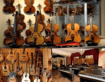 ドイツ、ドルトムント近郊にある楽器屋Earny's musikladen