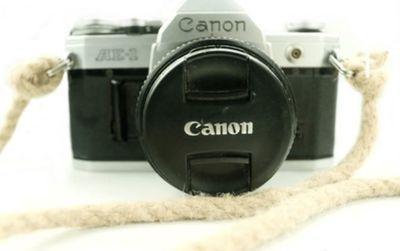 canonのアナログカメラをcanonのeoskissx8iで撮影