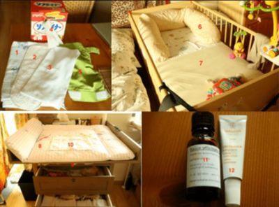 ドイツの赤ちゃん用品を日本語に翻訳