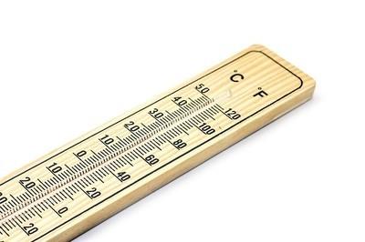 ドイツの温度計と日本の温度計の誤差