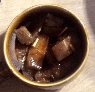 ドイツの冷凍マグロを使ったマグロの漬け