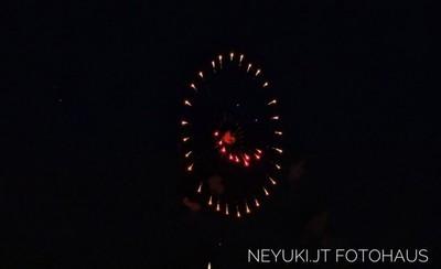 デュッセルドルフの日本デーの花火