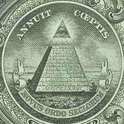 1ドル札に載っているプロビデンスの目