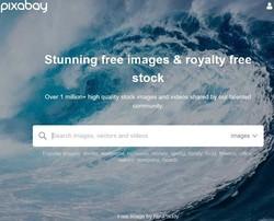 フリー画像サイトPixabay