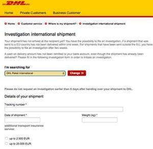 国際便の紛失六つを探してくれるサービス