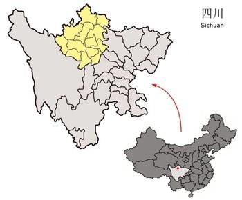 パンダの生息地・チベット