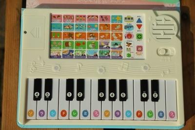 赤ちゃん用音の出る絵本・ピアノ付き