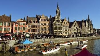 ベルギーの路上演奏の収入について
