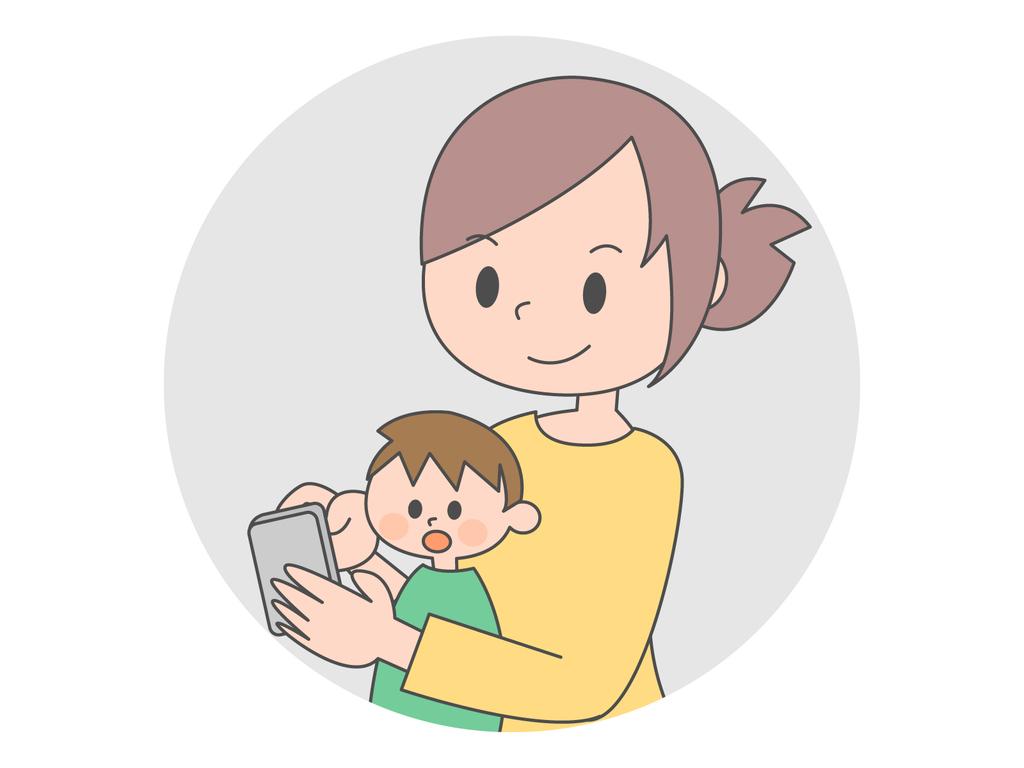 スマートフォン 育児 子育て 中毒 依存症