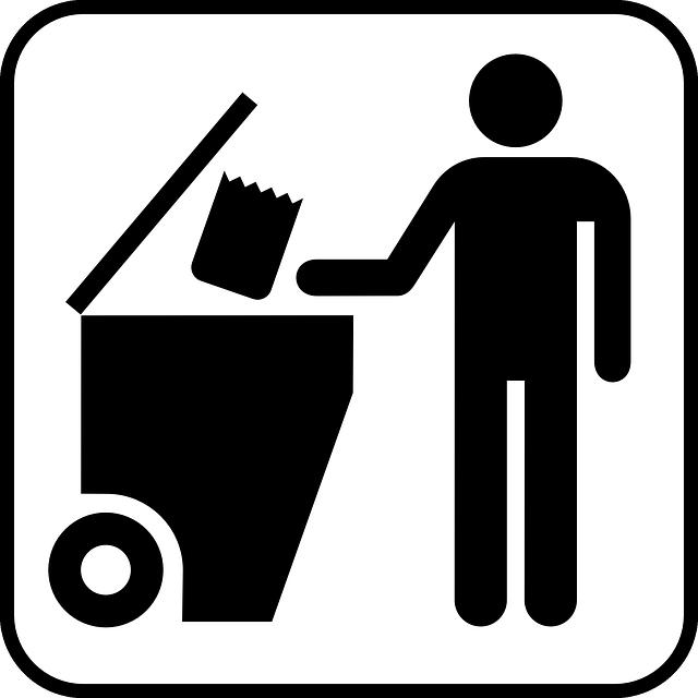 ネット SNS 断捨離 ゴミ