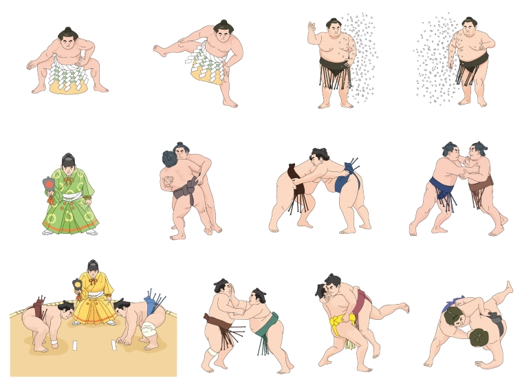 トランプ大統領 相撲 観戦 力士 親方 座布団 SP