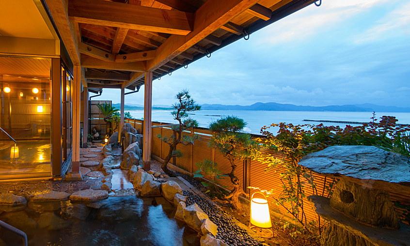 夕日ヶ浦 日本海 青い海 遠浅 きれい 海水浴 京都