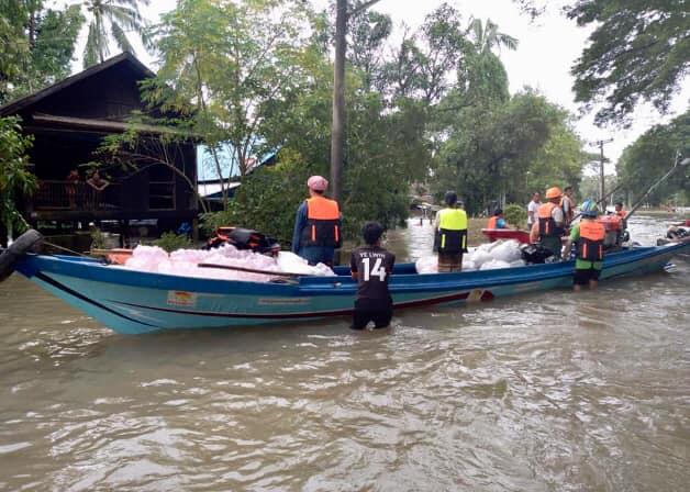 ミャンマー土砂災害