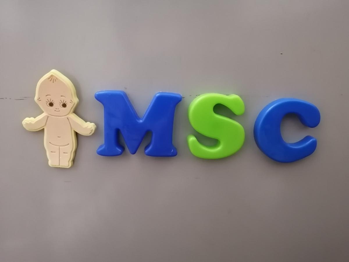 MSCと並んだマグネット