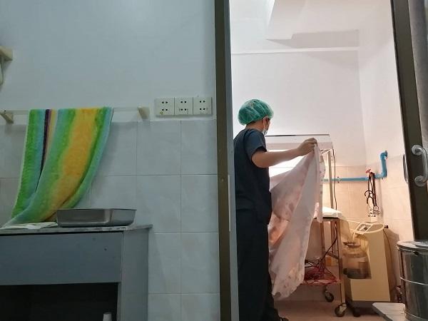 分娩室の写真