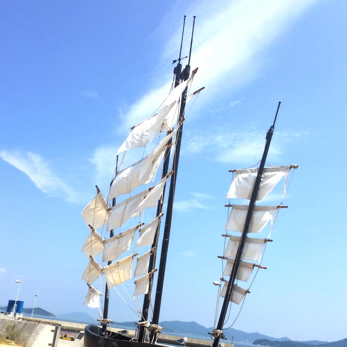 海賊船のマストのイメージ