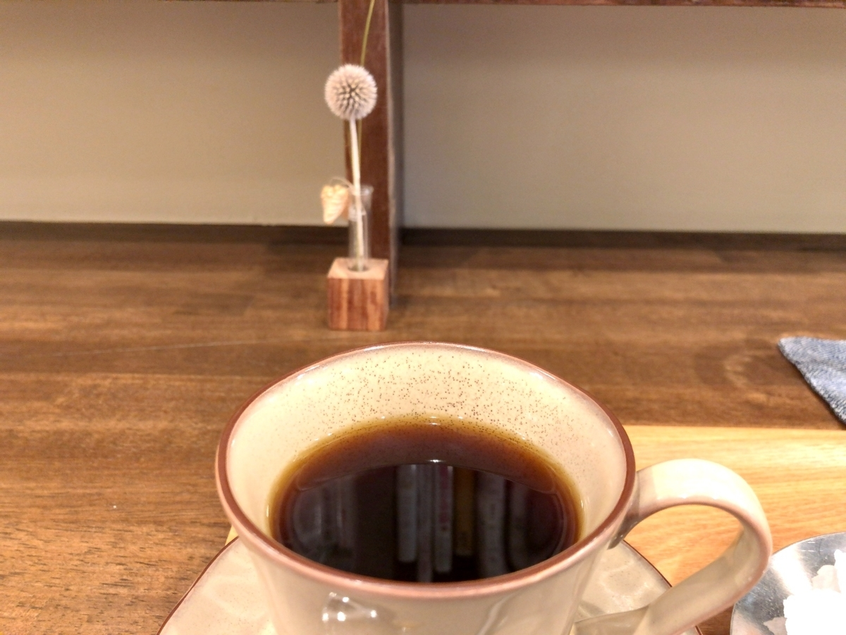 コーヒーで一休みのイメージ