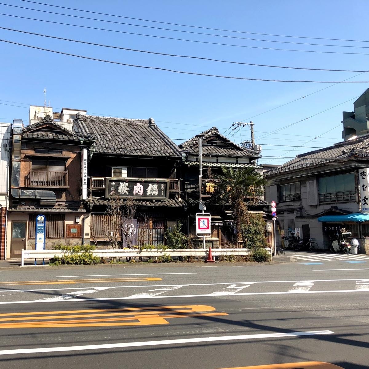 吉原の近くにある老舗のイメージ