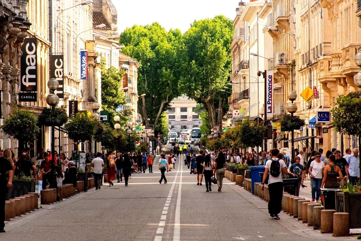 フランスの街のイメージ
