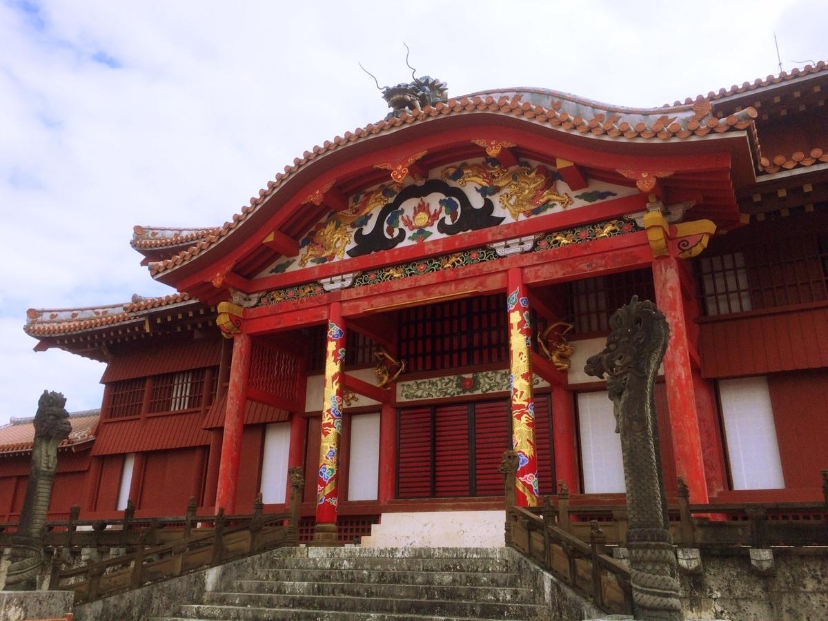 琉球工芸の粋と言ってもいい首里城イメージ