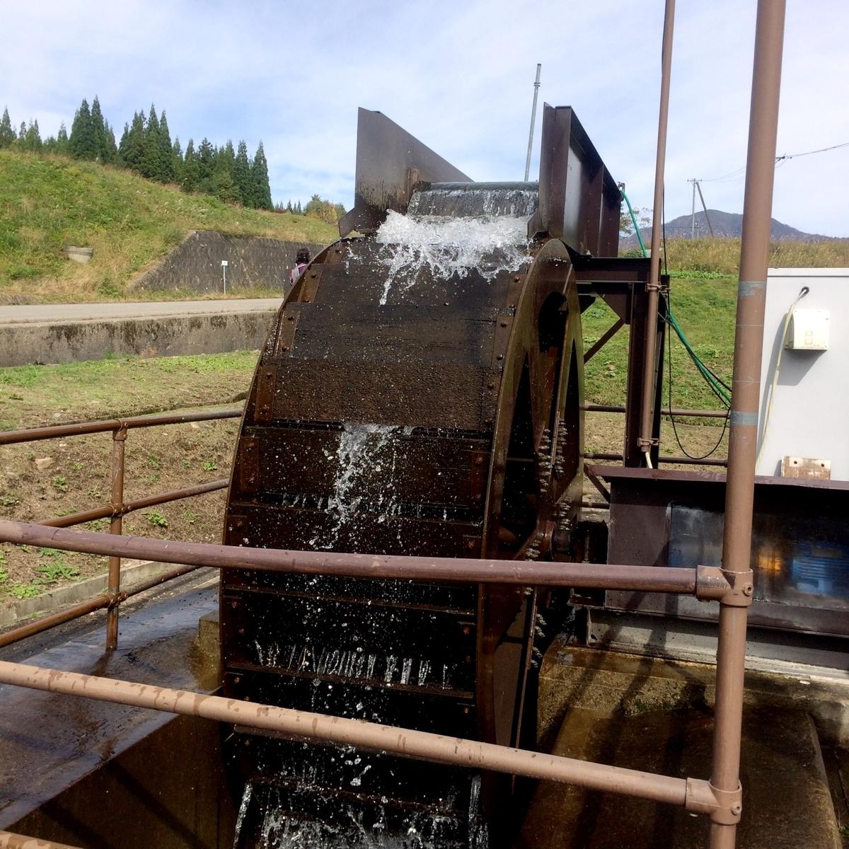 水路型水力発電イメージ