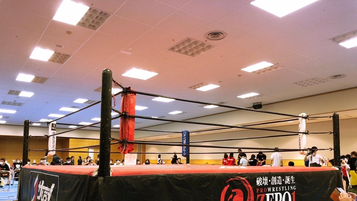 プロレスリングのイメージ