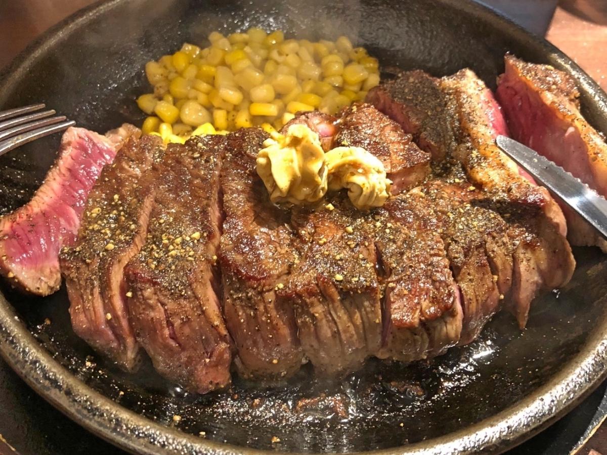 ミディアムレアステーキのイメージ