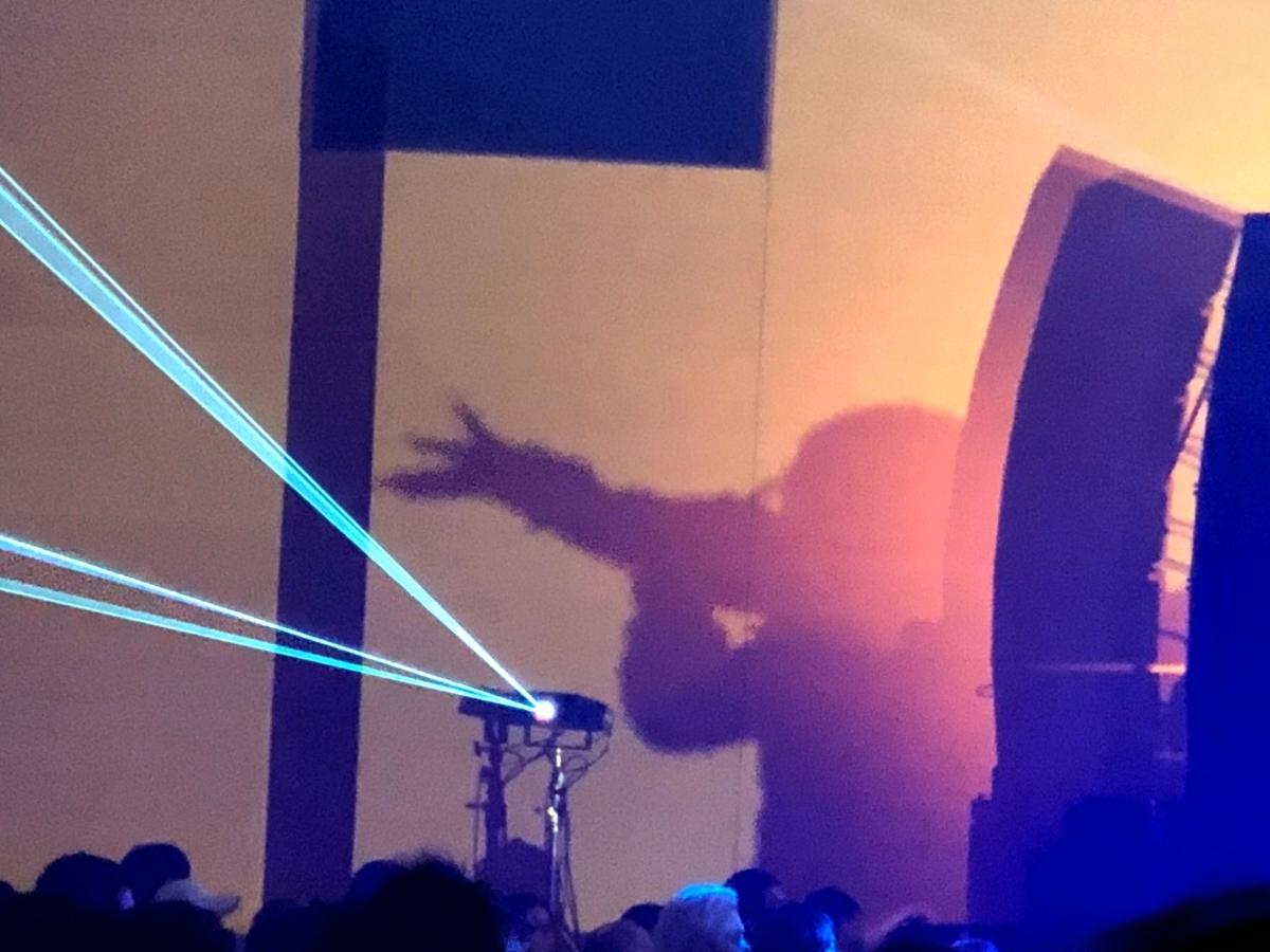 ライブで歌う歌手 image