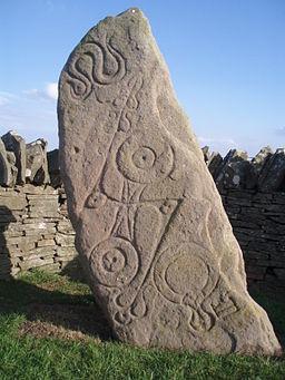 ピクト人の石碑
