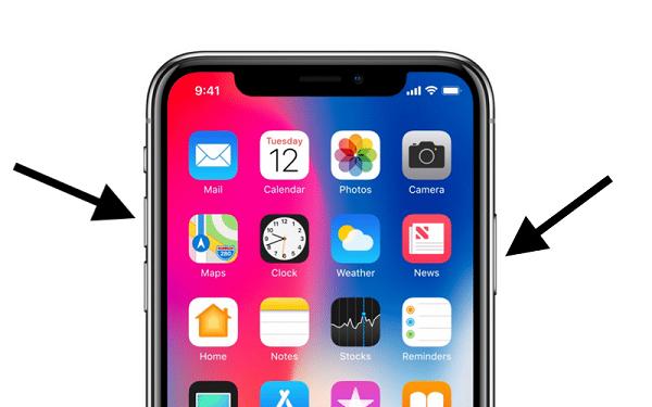 chup man hinh iPhone 11