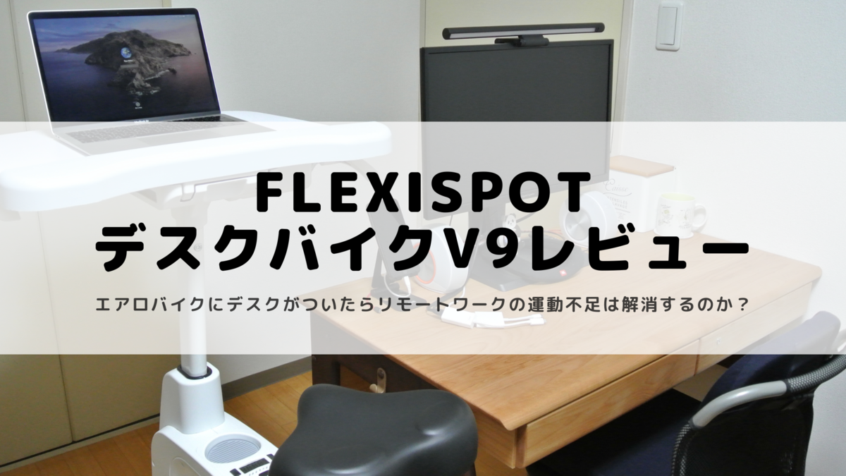 FLEXISPOTデスクバイクV9