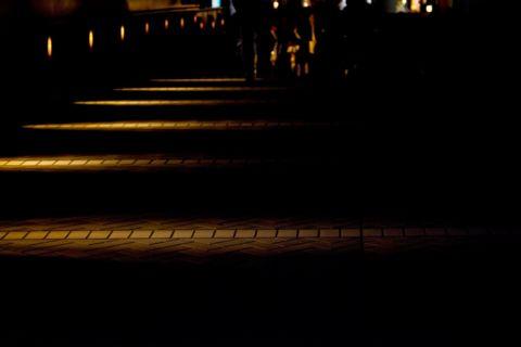 夜散歩するとネタが思い浮かぶ