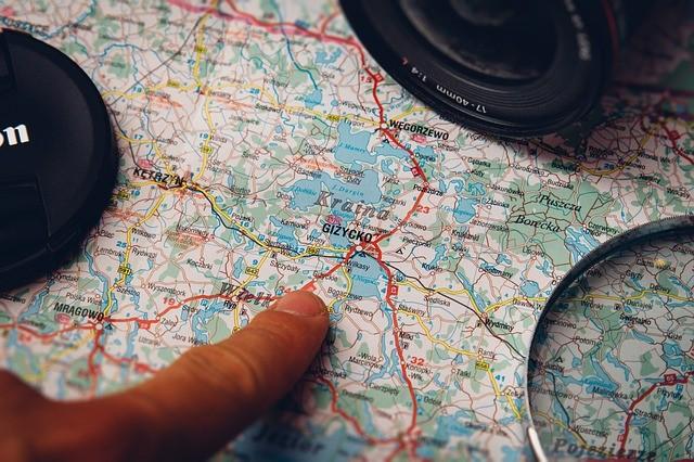 地図 場所 位置 指 指定