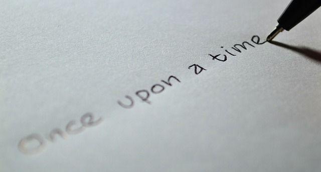 昔々あるところに、というストーリーの冒頭の書き出し