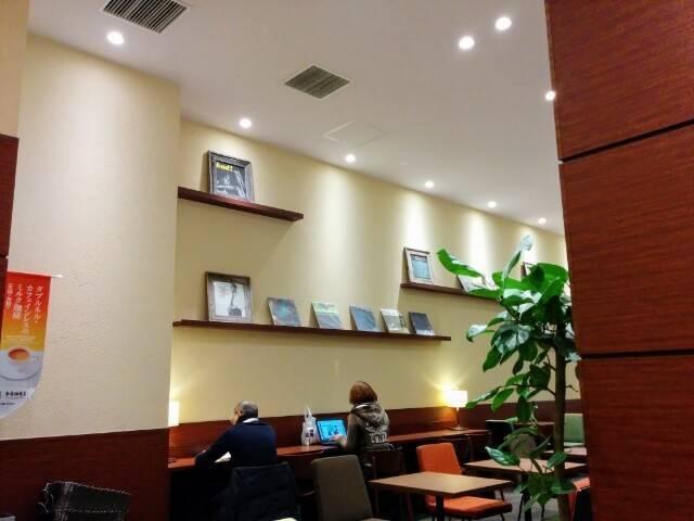 上島珈琲の店内写真