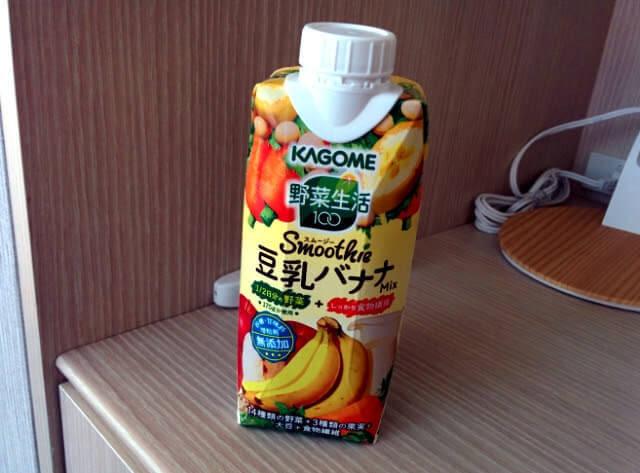 野菜生活100スムージー豆乳バナナMix
