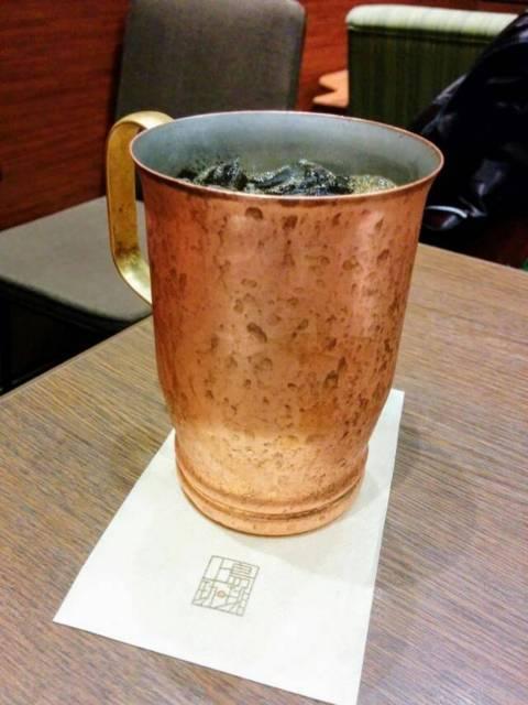 上島珈琲のアイスコーヒー