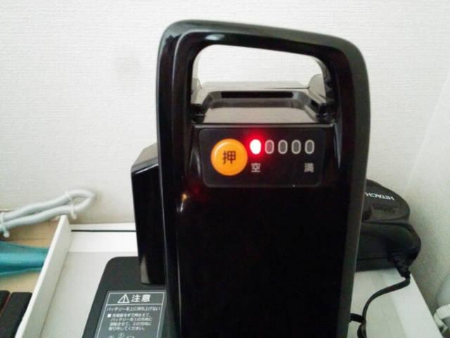ギュットミニDXの電池