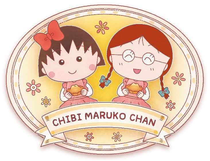 静岡銘菓アマンド娘のパッケージにちびまる子ちゃん描きおろし