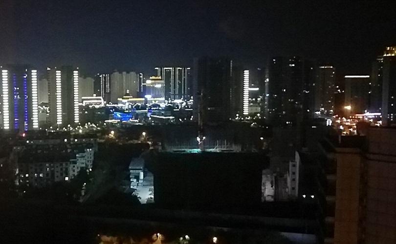 寧波の夜景