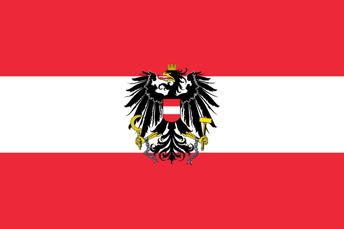 オーストリア 国旗