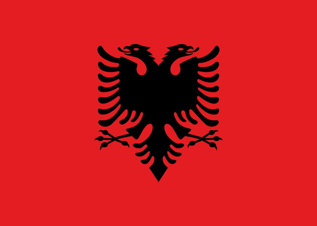 アルバニア 国旗