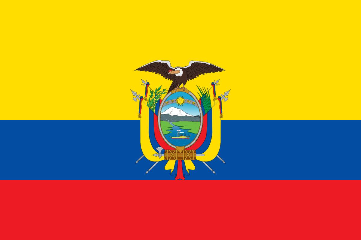 エクアドル 国旗