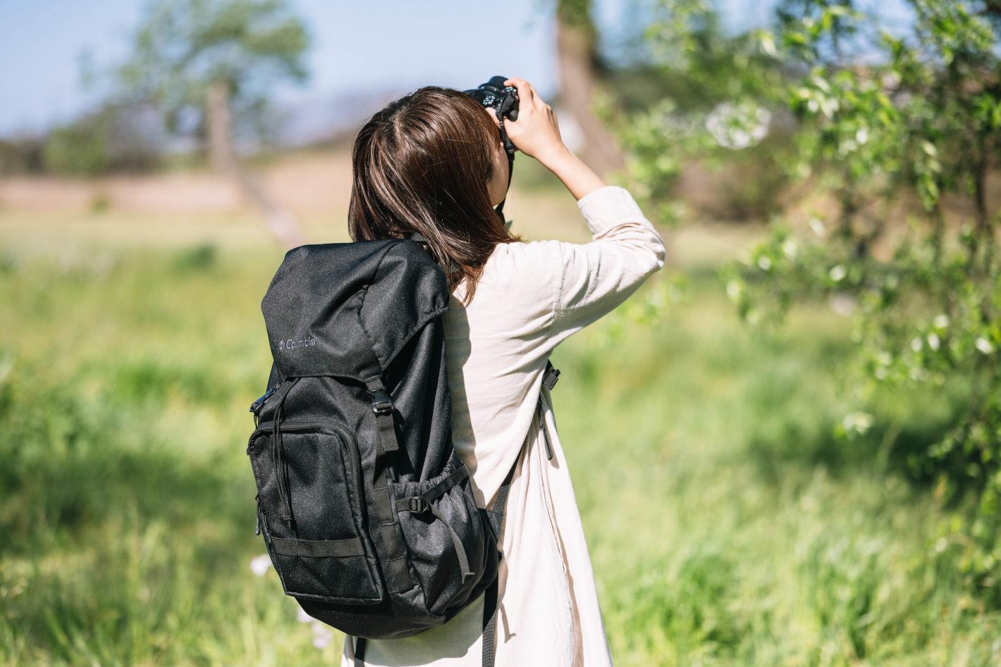 フォトグラファーの鞄の中身 - yasukaさんの日帰り旅の撮影スタイル