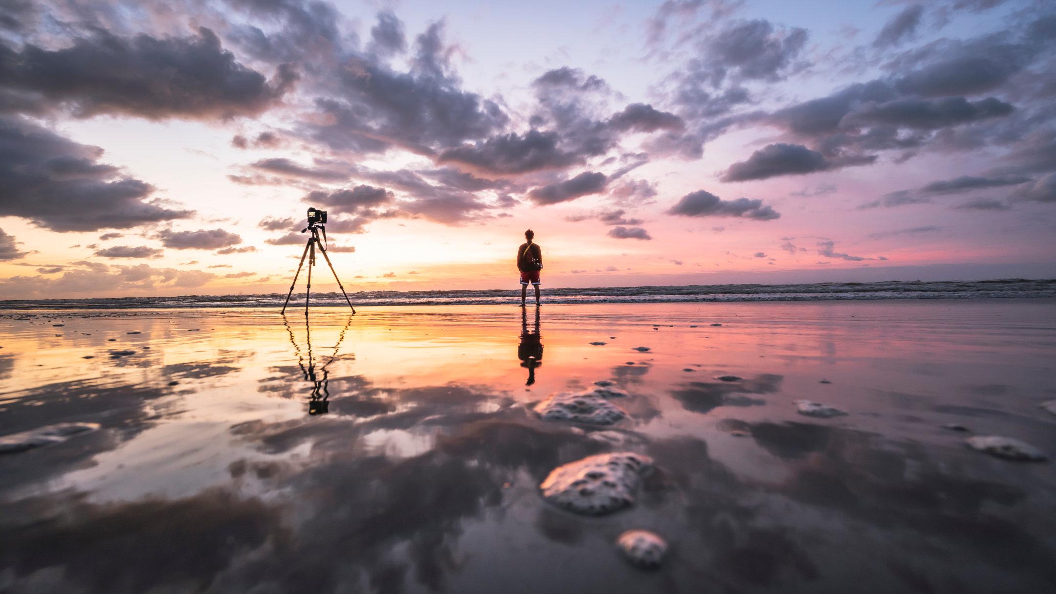 幻想的なリフレクションの撮り方 - 鏡のような反転世界を描く!