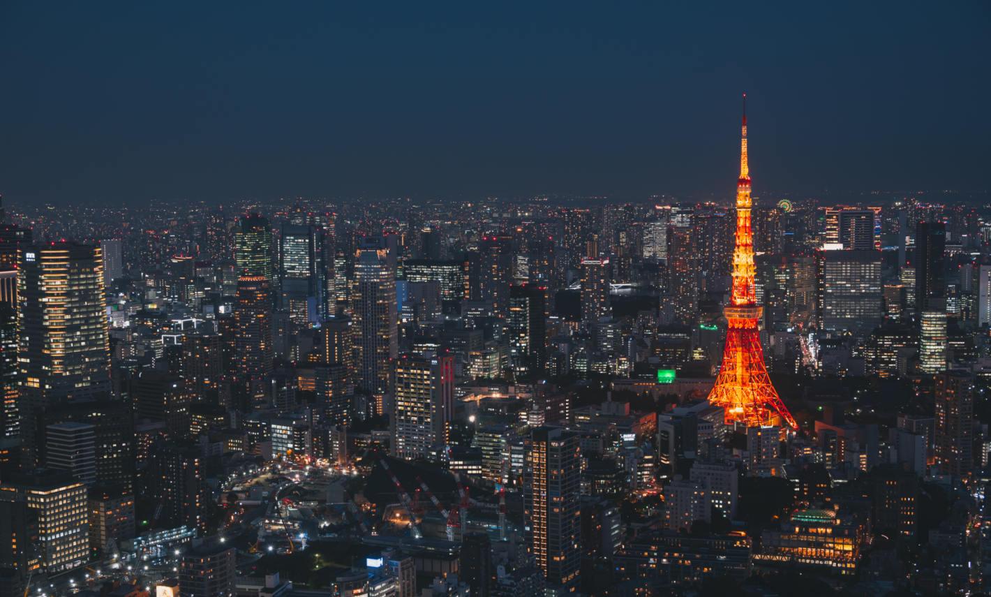 Z 7、NIKKOR Z 24-200mm f/4-6.3 VR/撮影地:六本木ヒルズ展望台 東京シティビュー 屋上スカイデッキ