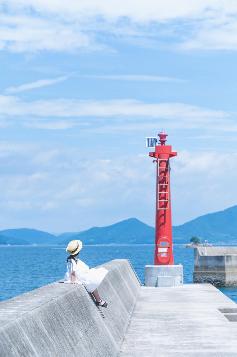 Z 6、AF-S NIKKOR 70-200mm f/2.8G ED VR II/撮影地:北木島(岡山県)
